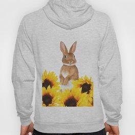 Sunflower Rabbit Hoody