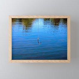 Hooked Framed Mini Art Print