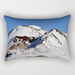 Snowy Mountains Rectangular Pillow