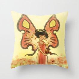 Goblins Drool, Fairies Rule! - Poppy Smock Throw Pillow