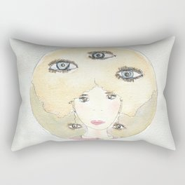 See thoughts with different eyes Rectangular Pillow