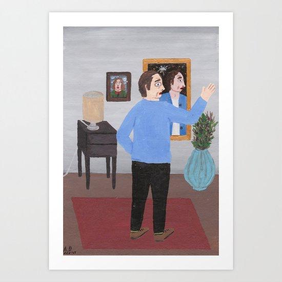 Paranormal Experience Art Print