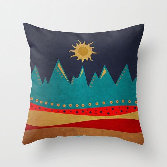 Textures/Abstract 126 Throw Pillow