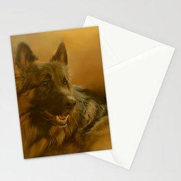 Golden King Shepherd Stationery Cards