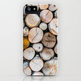 Logged iPhone Case