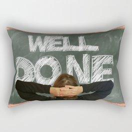Well Done (talkers) Rectangular Pillow