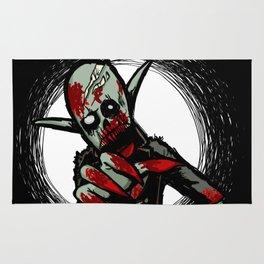 Debate Over: Zombies vs. Vampires Rug