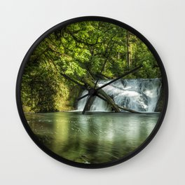 Lower North Falls Wall Clock