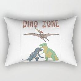 Dino Zone, dinosaurs world, prehistoric Rectangular Pillow
