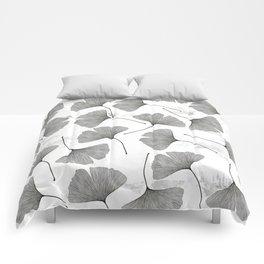 ginkgo biloba pattern Comforters