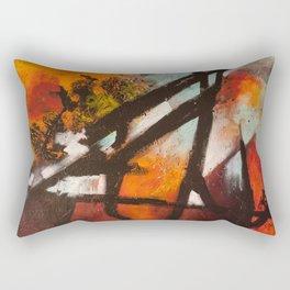 Tourist Attractions Rectangular Pillow
