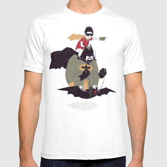 to the batmobile! T-shirt