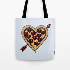 Pizza Love Tote Bag