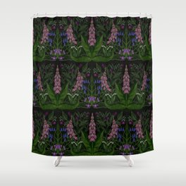 The Poison Garden - Mandragora Shower Curtain