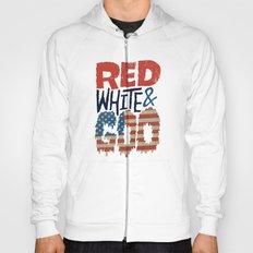 Red, White, & Goo Hoody