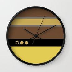 Geordie La Forge - Minimalist Star Trek TNG The Next Generation - 1701 D startrek Trektangles Wall Clock