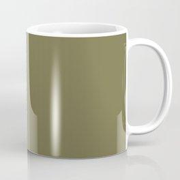 OLIVE DRAB solid color Coffee Mug
