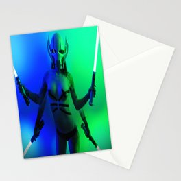 Baby Grevious Stationery Cards