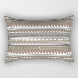 Tribal clay Rectangular Pillow