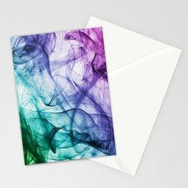 Rainbow Smoke Stationery Cards