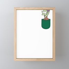 Disenchanted - Elfo in the pocket Framed Mini Art Print