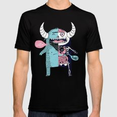 All Monsters are the Same Mens Fitted Tee Black X-LARGE