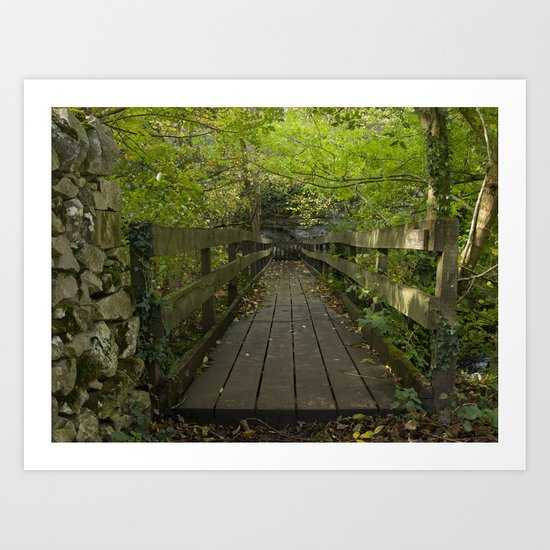 Troll Bridge Art Print