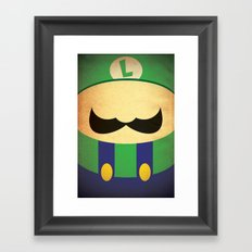 Minimal Player 2 Framed Art Print