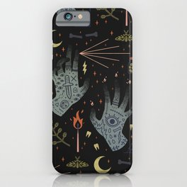 A Curse Upon You! iPhone Case