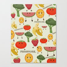 Fruity Collage Canvas Print