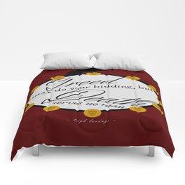 Greedy Comforters