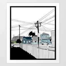 Carrington  Art Print