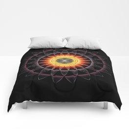 Black Hole Sun2018 Comforters