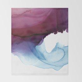 Shades of Purple Throw Blanket