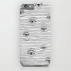 PEEPING TOM [BLK & WHT] iPhone 6 Slim Case