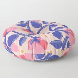 Lisbon Floral Floor Pillow