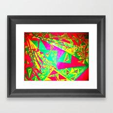 3 Triangulating Framed Art Print