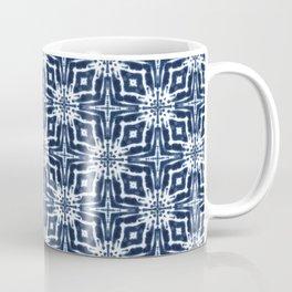 Watercolor Shibori Indigo Coffee Mug