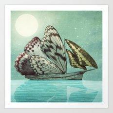 The Voyage Art Print