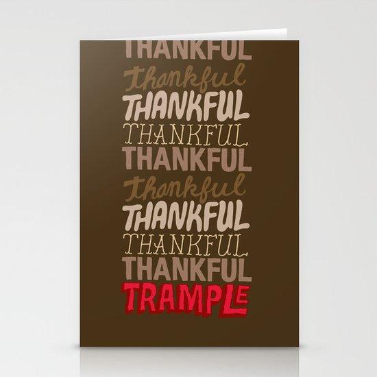 Thanksgiving, Black Friday Stationery Cards