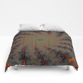 Tunnel Vision - Fractal Art Comforters