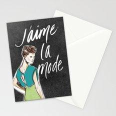 I Love Fashion Stationery Cards