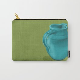 Teal Vase of Italy Carry-All Pouch