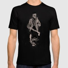 Dead Game MEDIUM Black Mens Fitted Tee
