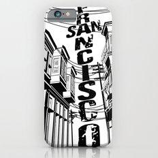 Cities in Black - San Francisco Slim Case iPhone 6s