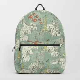 arctic retro Backpack