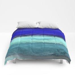 Midnight Waves Seascape Comforters