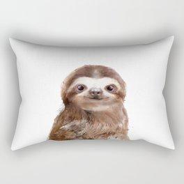 Little Sloth Rectangular Pillow