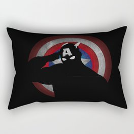 SuperHeroes Shadows : Captain America Rectangular Pillow