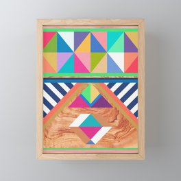 WOODY II Framed Mini Art Print